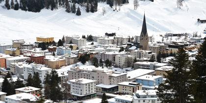 Davos, Graubuenden, Switzerland