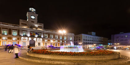 Puerta del Sol, Madrid, Espagne