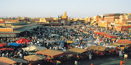Medina, Marrakech, Marokko
