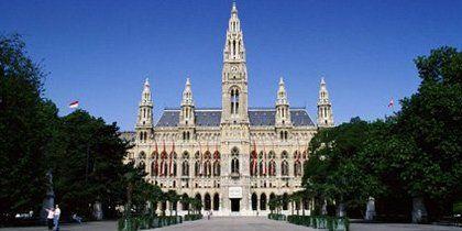 Stadtzentrum von Wien, Wien, Österreich