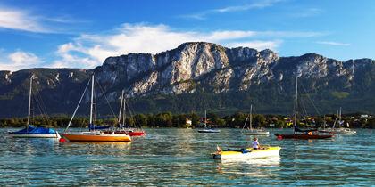 Worther Lake, Central Carinthia, Austria