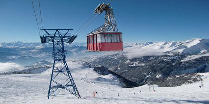 Crans Montana, Wallis, Schweiz
