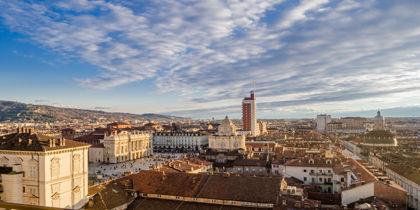 Piazza Castello, Turin, Italien
