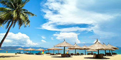 Tran Phu – Nha Trang-stranden, Nha Trang, Vietnam