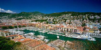 Nizzan venesatama, Nizza, Ranska