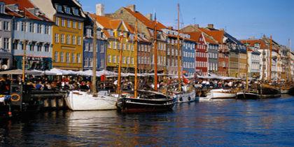 Nyhavn - Amalienborg, Copenhagen, Denmark