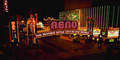 Downtown Reno Nevada United States Of America