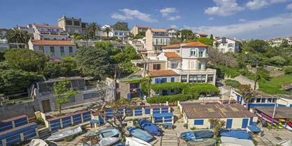 La Corniche, Marseille, Frankrike