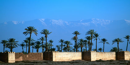 Agdal, Marrakesch, Marokko
