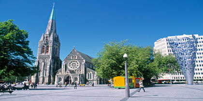 Christchurch City Centre, Christchurch, New Zealand