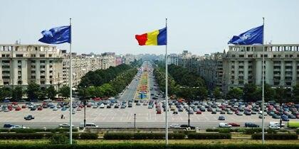 Piata Unirii, Bucharest, Romania