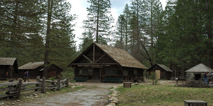 Yosemite Village, Yosemite National Park, California, United States of America