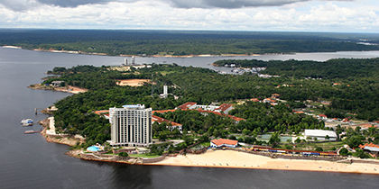 Ponta Negra, Manaus, Brazil