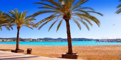 Sant Antoni de Portmany, Ibiza Island, Spain