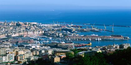 Porto Antico, Genova, Italia