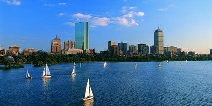 Back Bay, Boston, Massachusetts, USA
