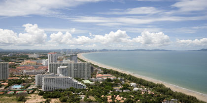 泰國芭堤雅喬木提恩海灘