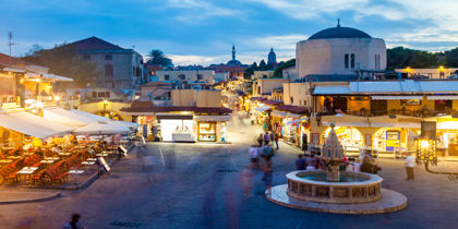Rhodos by, Rhodos, Grækenland