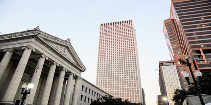 Business District, New Orleans, Louisiana, United States of America