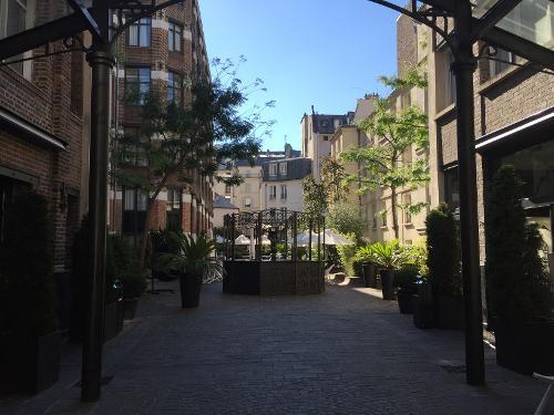 Les jardins du marais paris france for Hotel les jardins paris