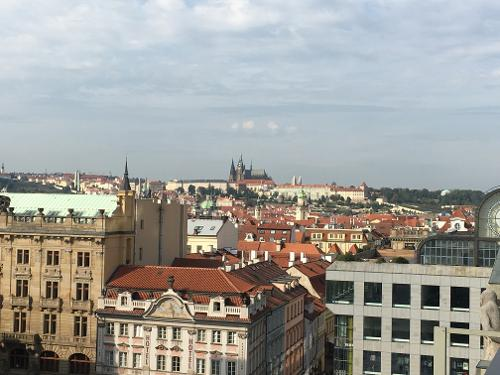 Wenceslas square terraces in prague for Hotels in prague 1