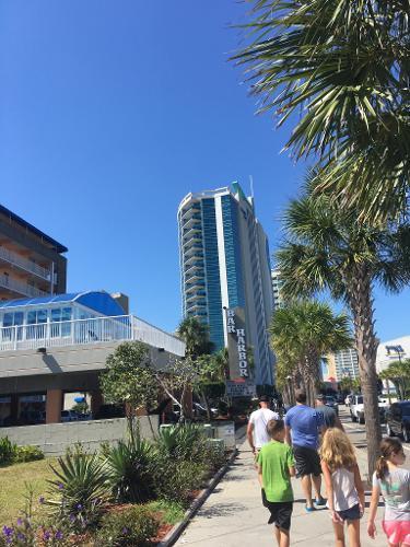 Oceans One Resort  South Ocean Boulevard Myrtle Beach Sc