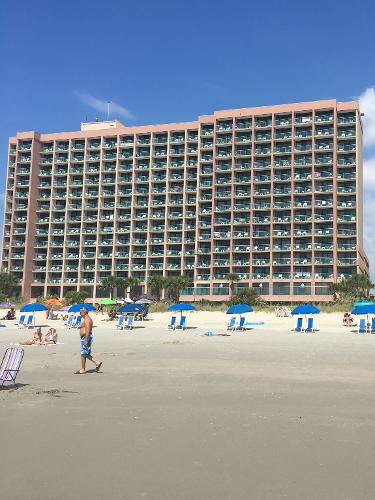 Sandcastle Resort  S Ocean Blvd Myrtle Beach Sc