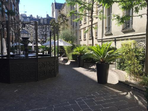 Les jardins du marais paris r servation avec for Les jardins hotel paris