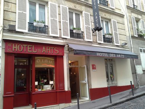 Book hotel des arts paris montmartre paris france for Seven hotel paris booking