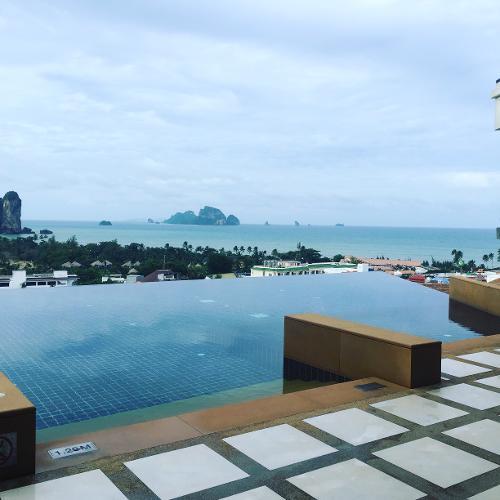 book aonang cliff beach resort krabi thailand. Black Bedroom Furniture Sets. Home Design Ideas